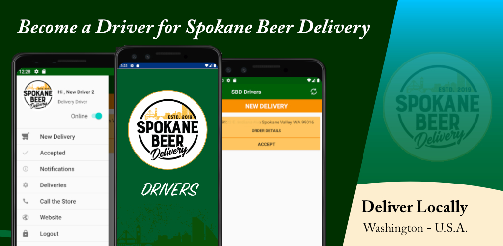 Spokane Beer Deliver Drivers App Download