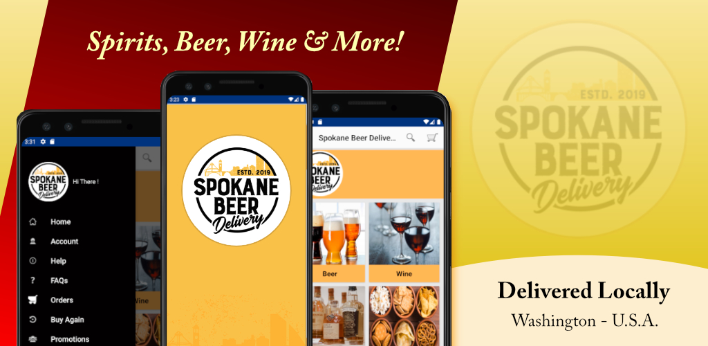 Spokane Beer Delivery Retail App